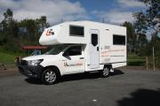 4 Berth Shower and Toilet campervan hire australia