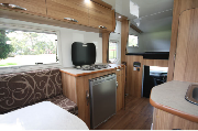 4 Berth Shower and Toilet campervan hire - australia
