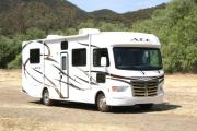 30-32 ft Class A Motorhome with slide out camper rentalcolorado