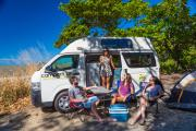 Family 5 HiTop (All Inclusive Rate) $500 EXCESS campervan hireadelaide
