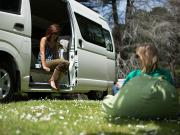 Britz Campervan Summer Fleet AU Action Pod 2 Berth Camper campervan rental melbourne