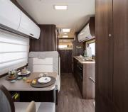 Just Go Motorhomes UK 6 Berth Rear Bed motorhome rental united kingdom