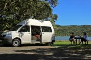 Pure Motorhomes New Zealand 2 Berth Dart campervan hire christchurch