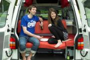 Pure Motorhomes New Zealand 2 Berth Dart campervan hire auckland