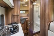 6 Berth Encounter campervan hire - new zealand