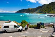 Kiwi Campers NZ 2 Berth Dart new zealand airport campervan hire