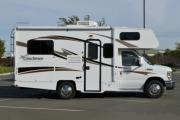 Clippership RV 20ft Class C Silver motorhome motorhome and rv travel