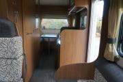 4 Berth Cheviot campervan hire - new zealand
