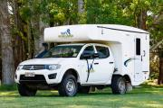 Bush Camper 4 berth new zealand airport campervan hire