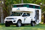 Bush Camper 4 berth campervan hire - new zealand
