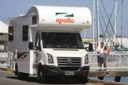 Apollo Motorhomes AU International Euro Star 4 Berth motorhome rental brisbane