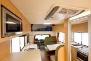 Apollo Motorhomes AU Domestic Euro Star 4 Berth campervan hire sydney