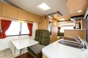 Apollo Motorhomes AU Domestic Euro Star 4 Berth motorhome rental brisbane
