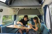 Mighty Campers NZ International 4 Berth Doubledown campervan hire christchurch