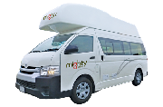Mighty Campers NZ International 4 Berth Doubledown motorhome rental new zealand