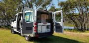 Britz Campervan Rentals AU (Domestic) Scout 4WD campervan hire alice springs