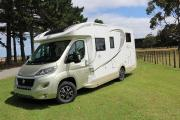Walkabout Motorhomes NZ (2017) Automatic Fiat 2+1 Lowline Magis new zealand airport campervan hire