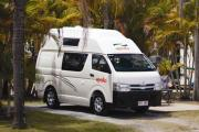 Endeavour Camper 2/4 Berth campervan hirehobart