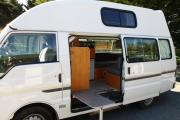 Aotea Campervans NZ Ltd Mazda A 2+1 Berth Premium Solar Campervan new zealand airport campervan hire