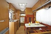 Motorhomes Italy (Unlimited km's) GB - Europeo 4 - Unlimited Km's motorhome hire italy