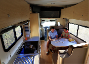6 Berth Big Six campervan hire - new zealand