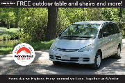 Explore campervan hire - new zealand