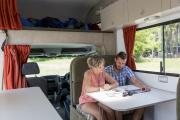 Cheapa 6 Berth campervan hire - new zealand