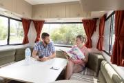 Cheapa Campa NZ Domestic Cheapa 6 Berth new zealand airport campervan hire