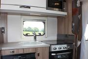 Landcruise Motorhome Hire Swift Escape 664 rv rental uk