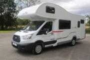Easi Campervans Ford Zefiro motorhome rental uk