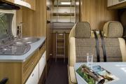 Pure Motorhomes Holland Family Luxury Sunlight A70 or similar motorhome rental holland