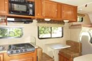 Road Bear RV 25-27 ft Class C Motorhome with slide out motorhome rental usa