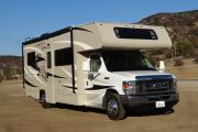 25-27 ft Class C Motorhome with slide out usa motorhome rentals
