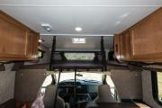 Road Bear RV 25-27 ft Class C Motorhome with slide out motorhome rental ny