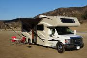 Road Bear RV 25-27 ft Class C Motorhome with slide out rv rental california