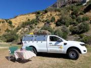 Ford Ranger 4x4 Single Cab camper hire south africa