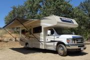 Star Drive RV US (Domestic) 25-27 ft Class C Motorhome with slide out cheap motorhome rental las vegas
