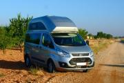 Southcamper Ford Nugget Custom High Roof campervan rental spain