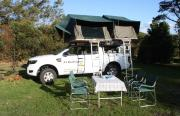 SA Roadtrippers Ford Ranger 4x4 Double Cab motorhome rental south africa