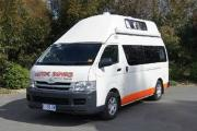 2 - 3 Berth Super Deluxe Hi Top Camper campervan hire - australia