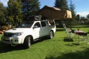 Discoverer DC 4x4 camper hire south africa