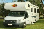 Advance Campervan Rental Euro Deluxe - 6 Berth Motor Home motorhome rental australia