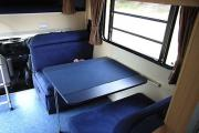 Advance Campervan Rental Euro Deluxe - 6 Berth Motor Home australia camper van hire