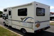 Advance Campervan Rental Euro Camper - 4 Berth Motor Home campervan hire australia