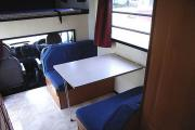 Advance Campervan Rental Euro Camper - 4 Berth Motor Home