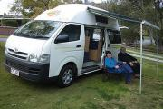 Advance Campervan Rental The Adventurer - 3 Berth Deluxe Campervan australia camper van hire