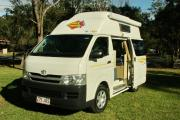 The Adventurer - 3 Berth Deluxe Campervan motorhome rentalaustralia