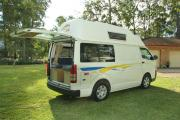 Advance Campervan Rental The Adventurer - 3 Berth Deluxe Campervan campervan hire australia