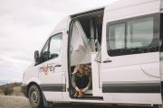 3 Berth Deuce Plus campervan hire - new zealand