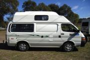 The Weekender - 3 berth Campervan motorhome rentalaustralia